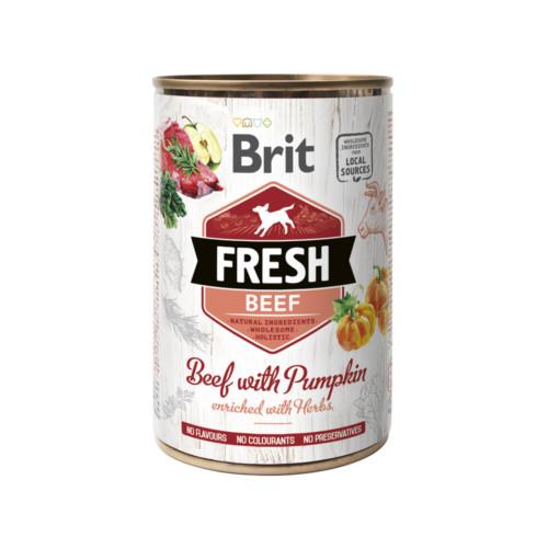 Brit Fresh Cans Beef with Pumpkin 400 g