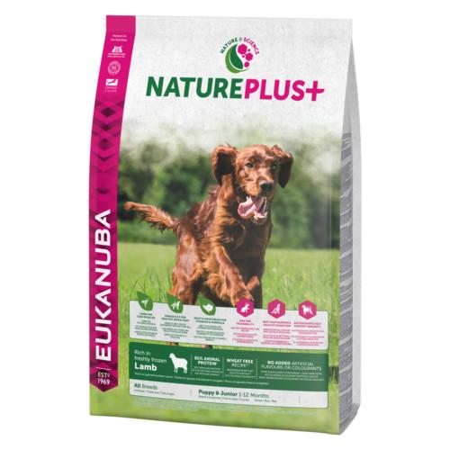 Euk Dog Nat + Pup All Br Lamb 2,3 kg