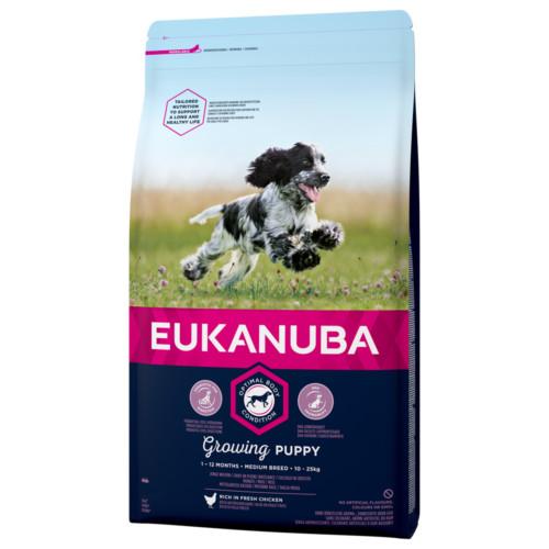 Eukanuba Dog Puppy Medium 3 kg