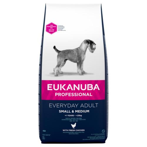 Eukanuba Dog Everyday Small & Medium 16,5 kg