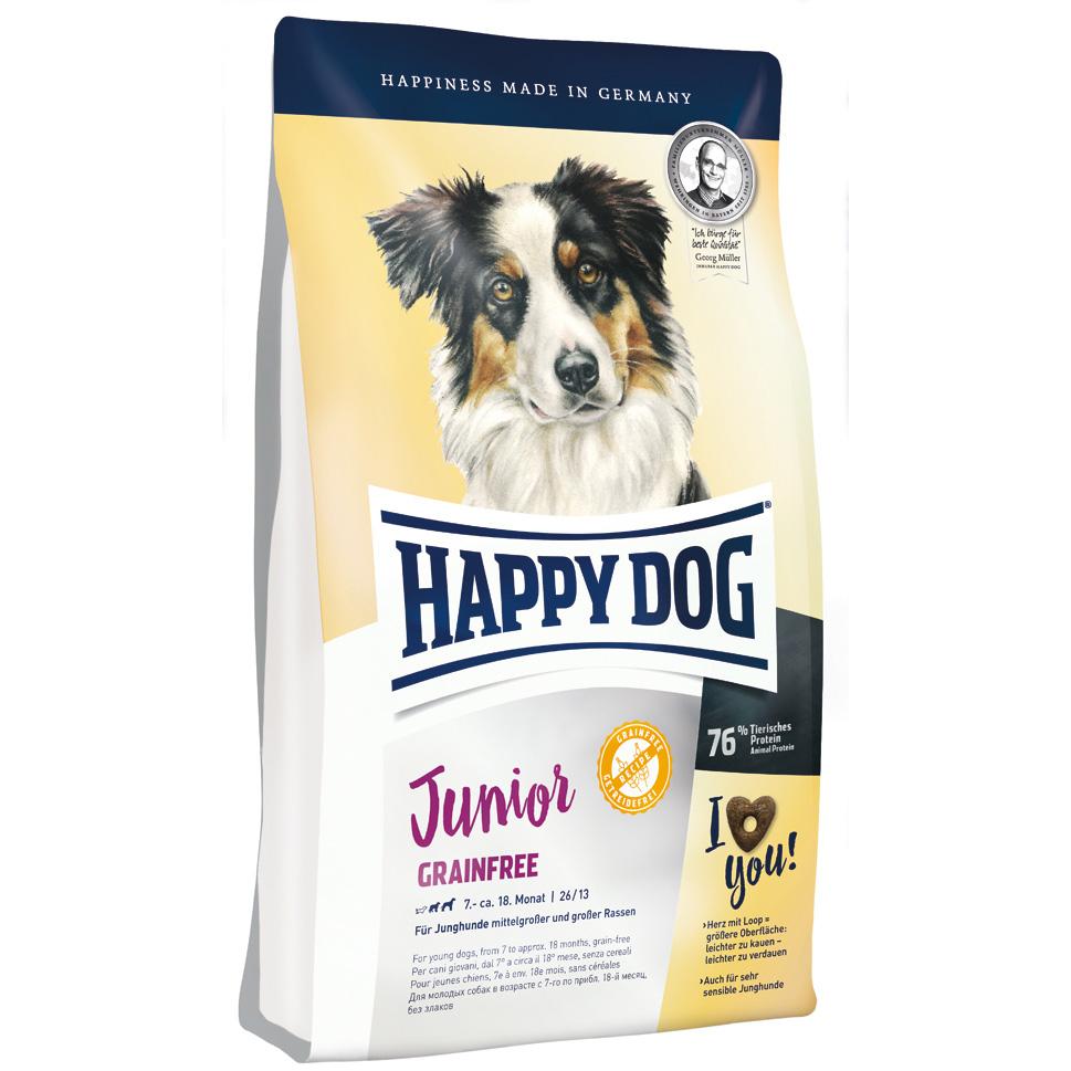 HappyDog Junior Grainfree 10 kg