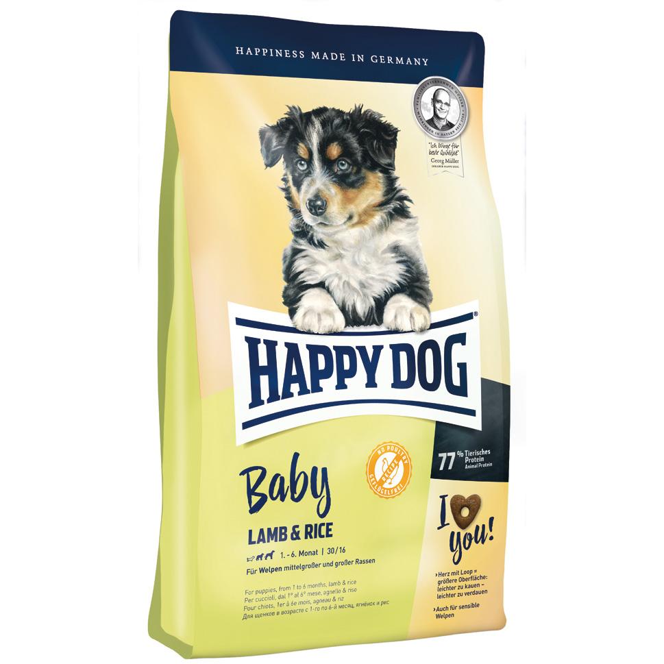 HappyDog Baby Lamb & Rice 10 kg