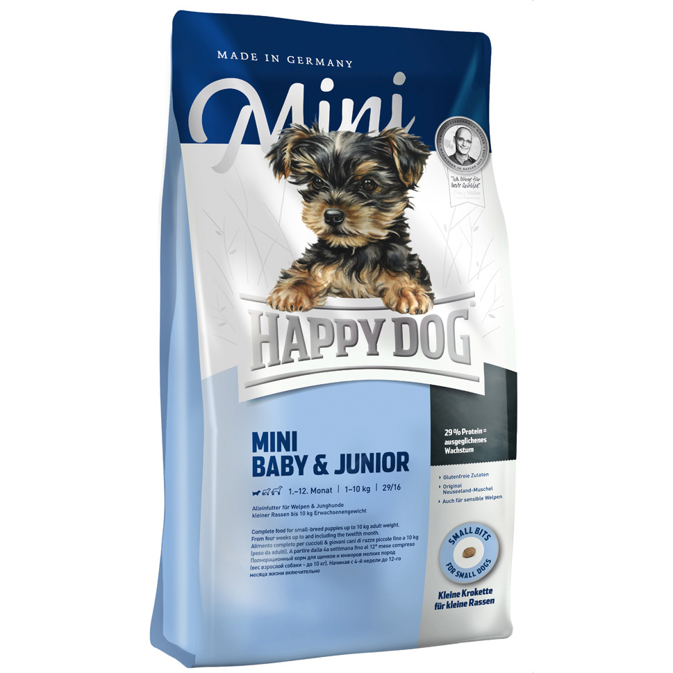 HappyDog Mini Baby & Junior 4 kg