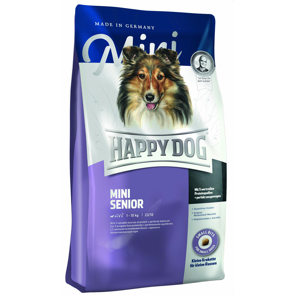 HappyDog Mini Senior 4 kg