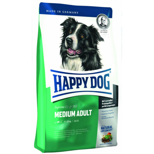 HappyDog Medium Adult 300 g