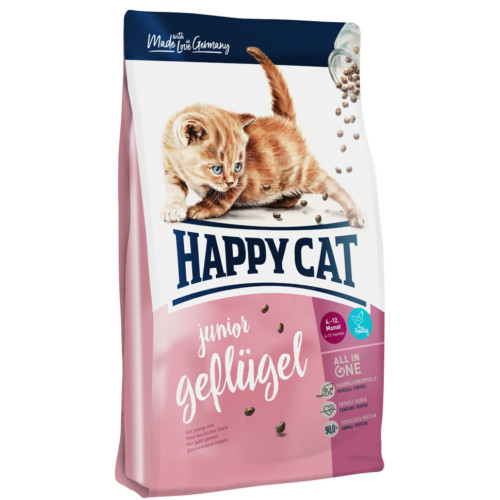 HappyCat Junior fågel 10 kg