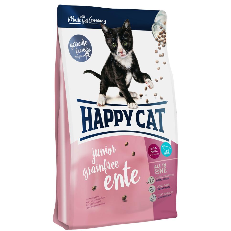 HappyCat Junior GrainFree anka 1,4 kg