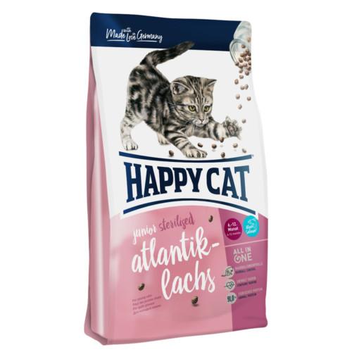 HappyCat Junior sterilised lax 1,4 kg