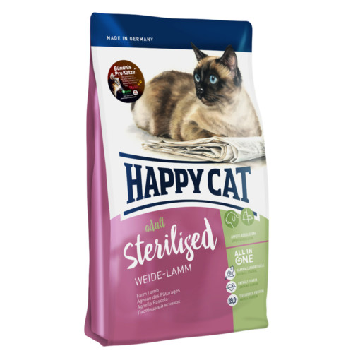 HappyCat Adult sterilised lamm 300g