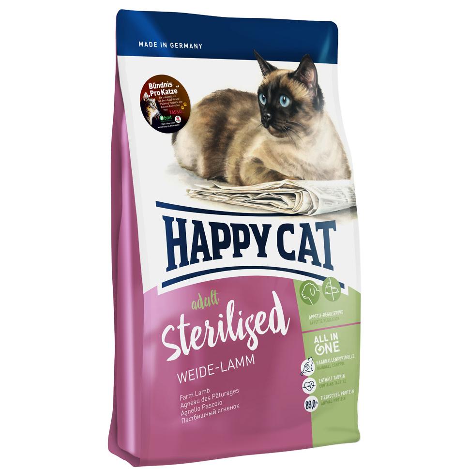 HappyCat Adult sterilised lamm 10 kg
