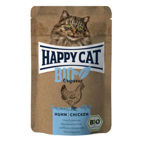 HappyCat våt Bio Organic kyckling 85g