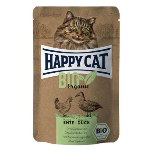 HappyCat våt Bio Organic kyckling & anka 85g