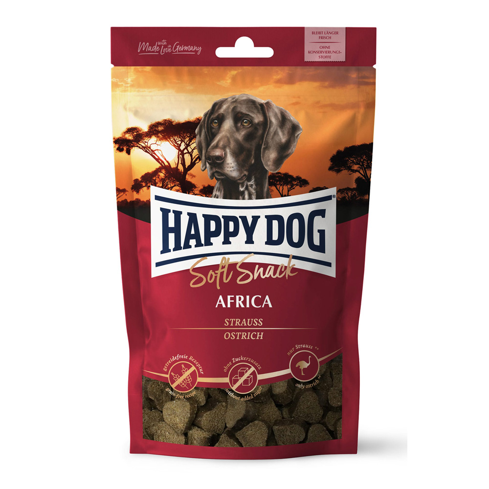 HappyDog Soft Snack Africa 100g