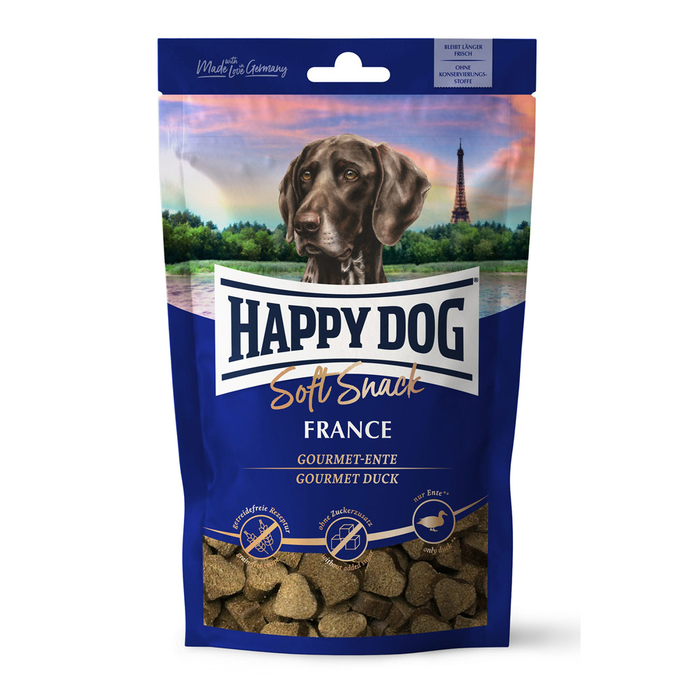 HappyDog Soft Snack France 100g