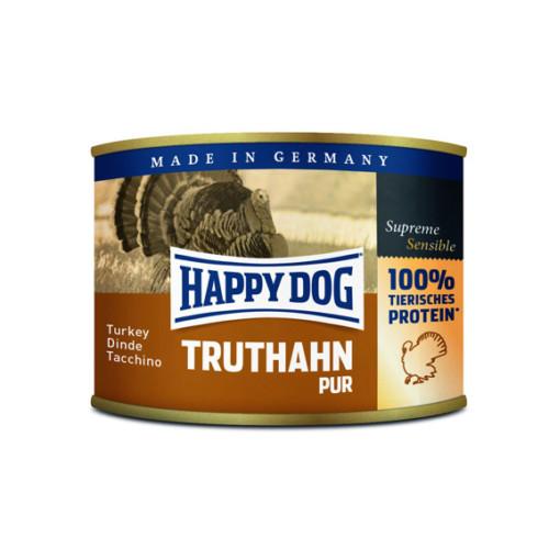 HappyDog konserv 100% animalisk kalkon 200g