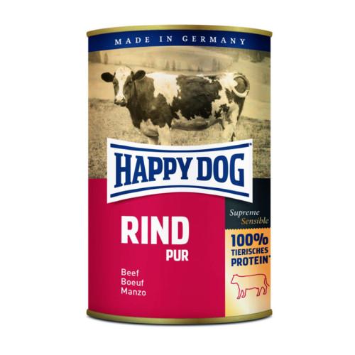 HappyDog konserv 100% animalisk oxkött 400g