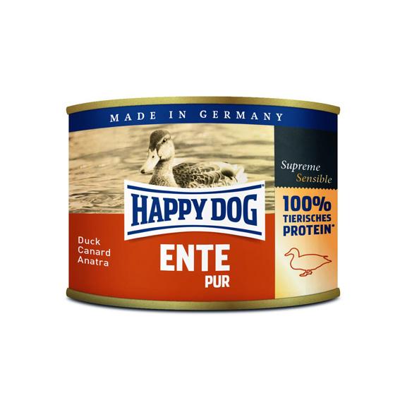 HappyDog konserv 100% animalisk anka 200g