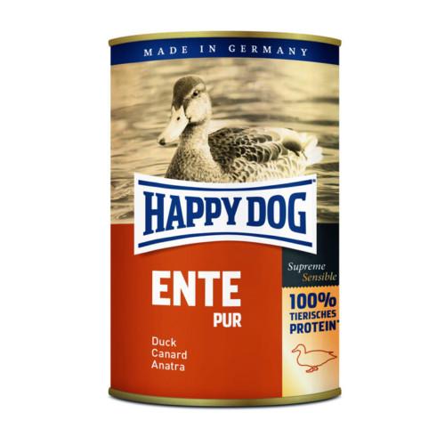 HappyDog konserv 100% animalisk anka 400g
