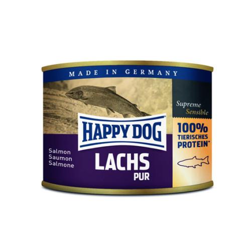 HappyDog konserv 100% animalisk lax 200g