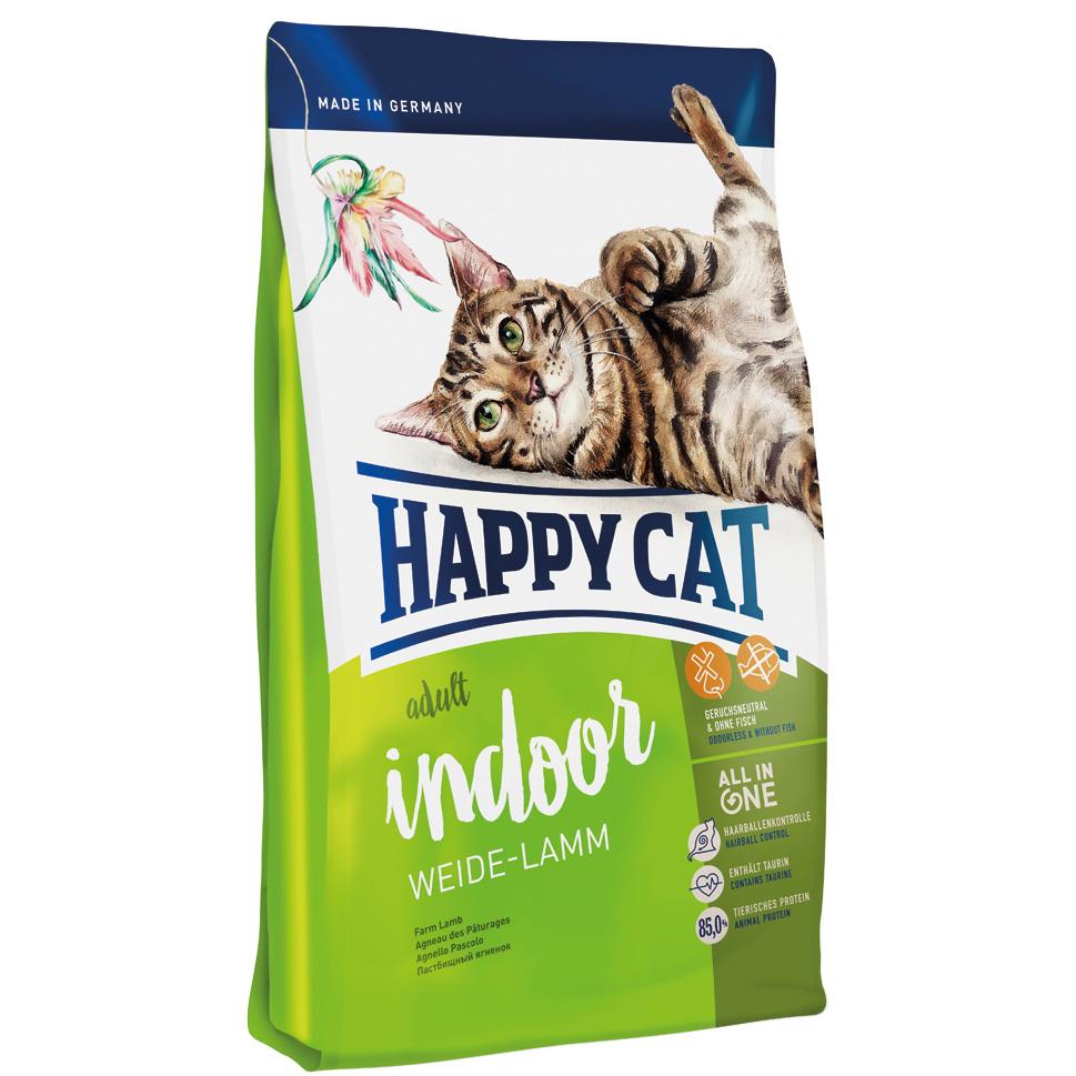 HappyCat Indoor lamm 4 kg