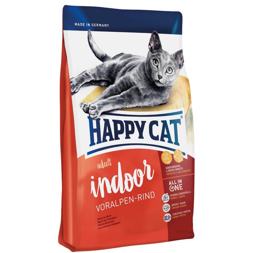 HappyCat Indoor oxkött 300 g