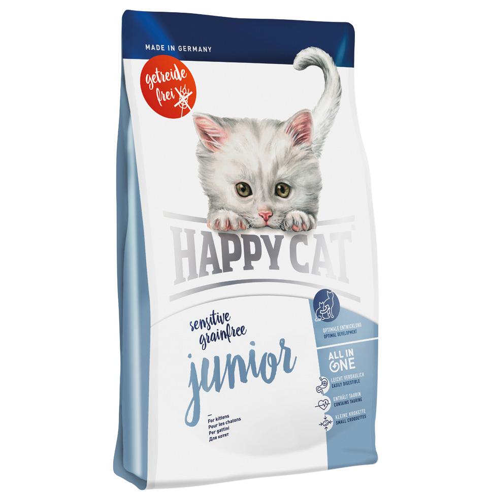 HappyCat Sens.GrainFree Junior 4 kg