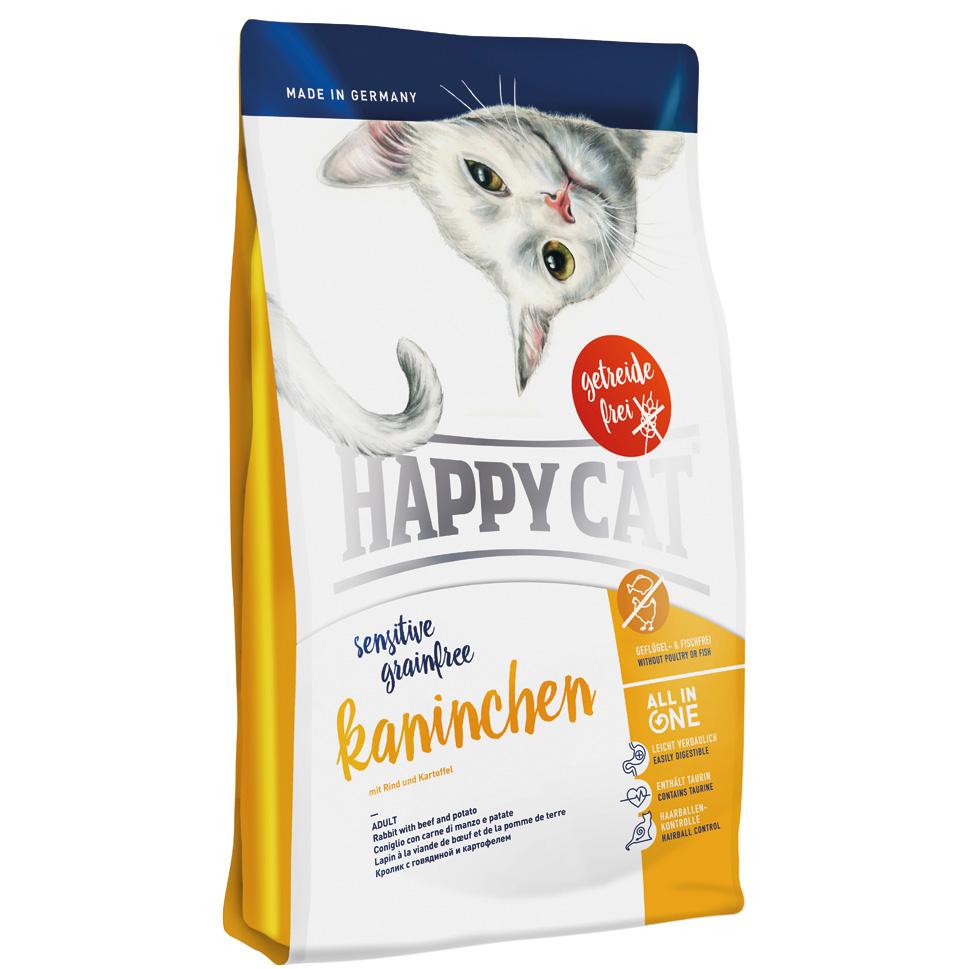 HappyCat Sens.GrainFree kanin 1,4 kg