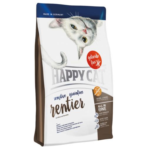 HappyCat Sens.GrainFree ren 4 kg