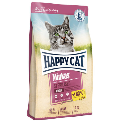 HappyCat Minkas Sterilised 10kg
