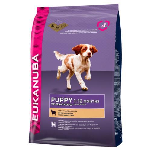 Eukanuba Dog Puppy Lamb & Rice 2,5 kg