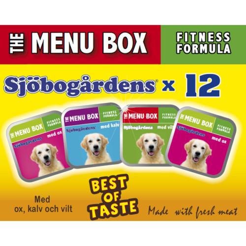 Sjöbogårdens menu box 12x150g