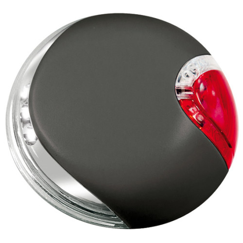 Flexi LED belysning, ø 7 cm svart