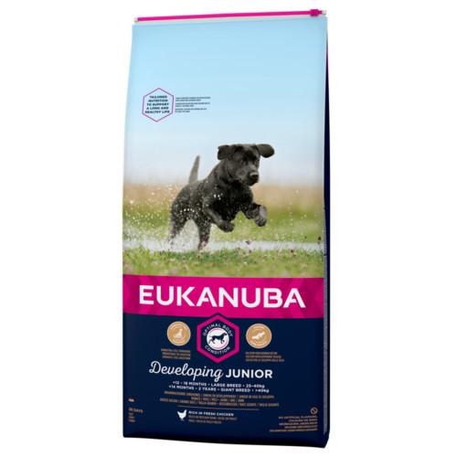 Eukanuba Dog Junior Large 15 kg