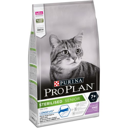 Pro Plan Cat Sterilised 7+ Turkey 1,5kg