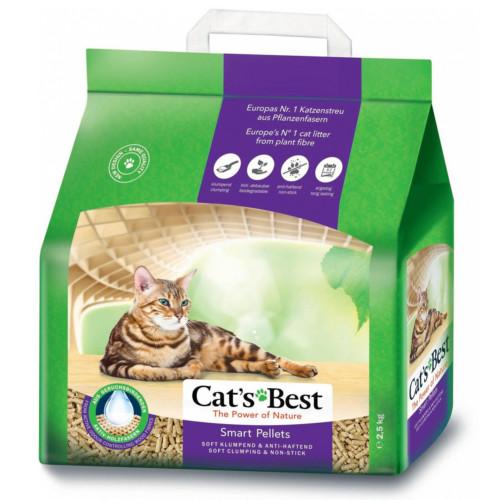 Cat's Best Smart 5 L/2,5 kg för långhårskatter