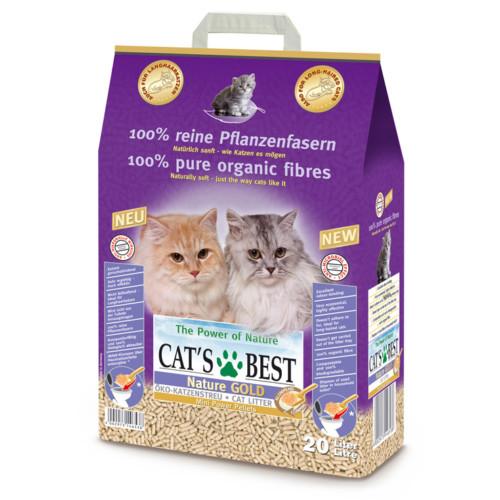 Cat's Best Smart 20 L/10 kg för långhårskatter