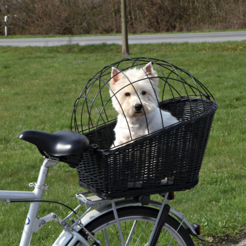 Cykelkorg Svart pil 55x35x49