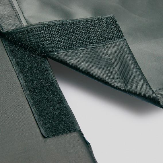 Bilbädd 95 × 75 cm svart/grå