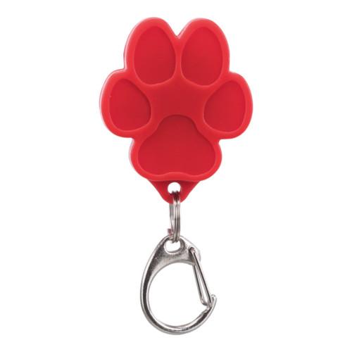Flasher för hund USB 3.5x4.3 cm