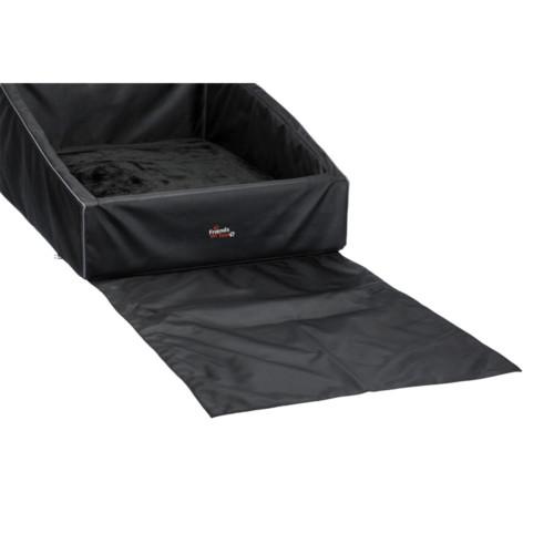Bilbädd 90 x 75 cm svart
