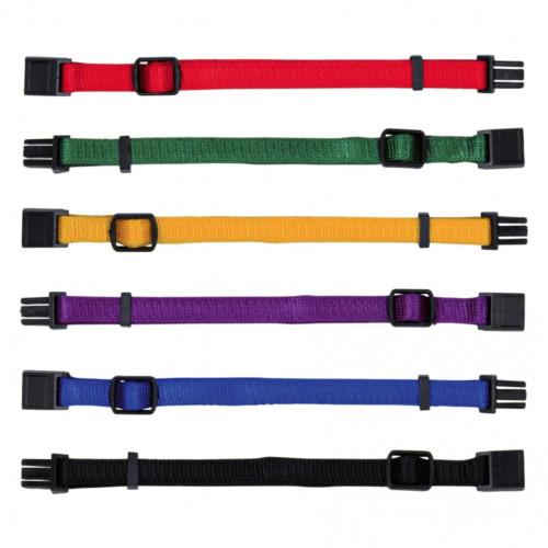 Valphalsband 6-p M/L 10/22-35 färgmix 1