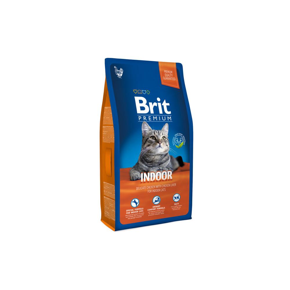 Brit Premium Cat Indoor 8 kg
