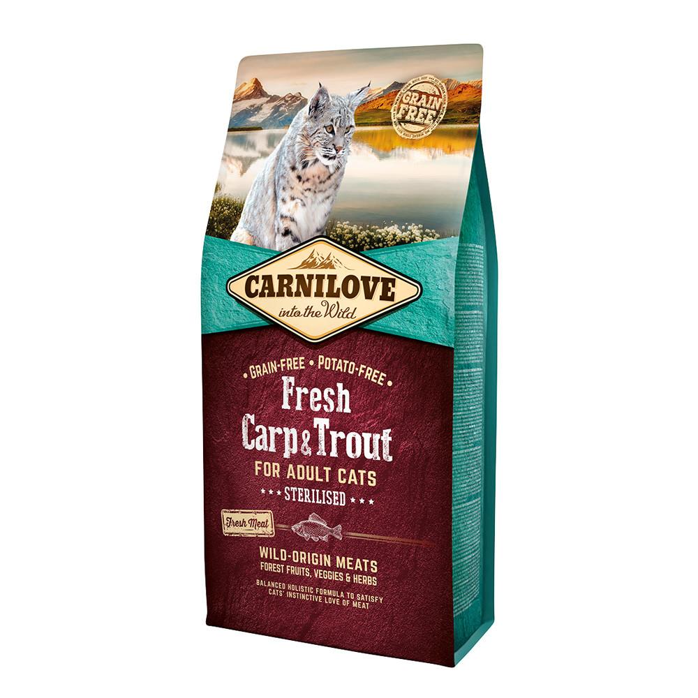 Carnilove CAT Fresh Carp & Trout - for Sterilised 6 kg