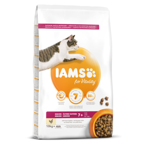 Iams Cat Senior 10 kg