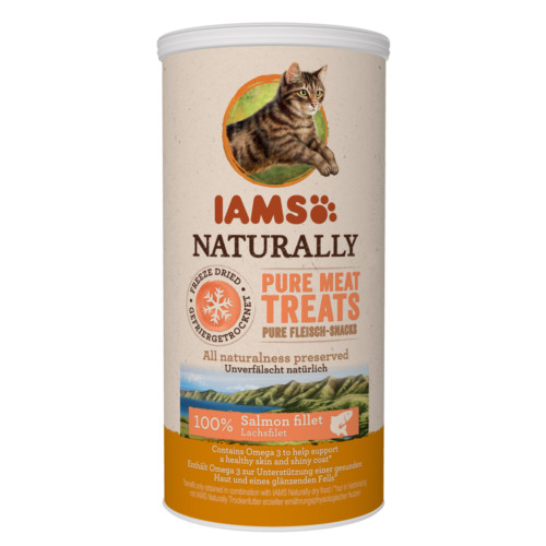 Iams Cat Salmon Treats 20g