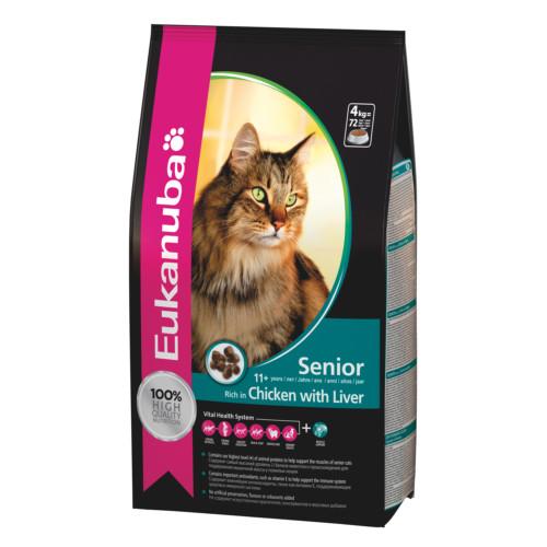 Eukanuba Cat Top Condition 7+ 4 kg