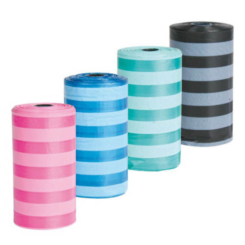 Bajspåsar 4x20 påsar blandade färger
