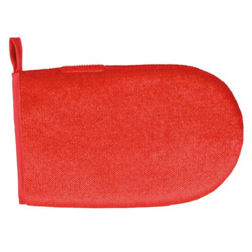 Klädvårdshandske röd