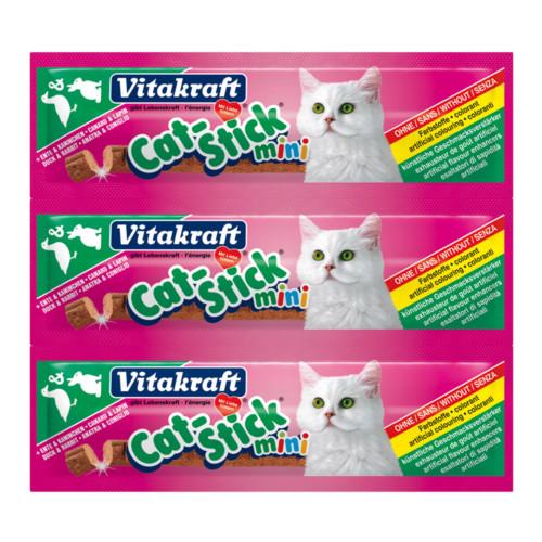 Cat-Stick mini anka/kanin 3st