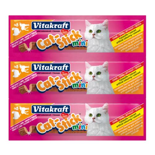 Cat-Stick mini kalkon/lamm 3pack